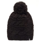 The North Face Cable Pom Beanie_zwart