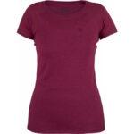 Fjallraven Abisko Trail Tshirt W_89629_Plum 420
