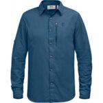 Fjallraven Abisko Hike Shirt LS_82263_Uncle Blue 520