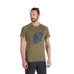 Mammut Mountain T-Shirt Men_1017-09842_Olive PRT2