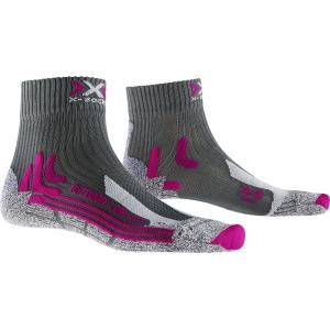 X-Socks Trek Outdoor Low W_XSTS16S19W_Antracite-fuchsia