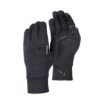 Mammut Wool Glove_1190-00300_Black melange